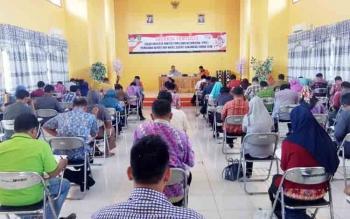Seleksi tertulis panitia pengawas pemilihan kecamatan di Kalteng. (ilustrasi)