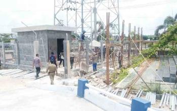 Pemerintah Kabupaten Kapuas melalui SOPD teknis melakukan kunjungan dan koordinasi bersama dengan pihak Polres Kapuas membahas penempatan tower telekomunikasi keamanan kepolisian di Polres Kapuas.