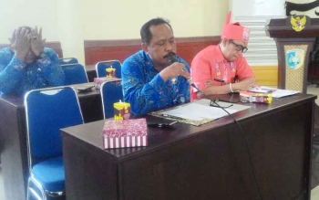 Kepala Badan Narkotika Nasional (BNN) Kota Palangka Raya M Soedja