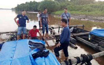 Operasi Wanalaga, Polres Kapuas Amankan 90 Log Kayu