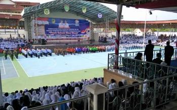 Peringatan hari sumpah pemuda ke-89 tingkat Kabupaten Barito Utara tahun 2017 di Arena Terbuka Tiara Batara.
