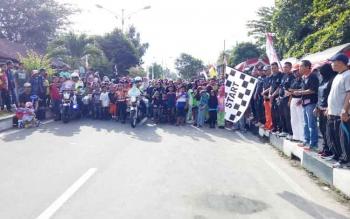 Jalan sehat Pilkada Sukamara 2018.