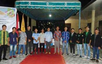Himpunan Mahasiawa dan Pelajar Kabupaten Katingan (HIMAPAKAT) di Palangka Raya saat menggelar malam keakraban, Sabtu (28/10/2017) lalu.