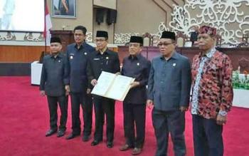 SAH : Berkas DOB Kapuas Ngaju telah ditandatangani di DPRD Provinsi.