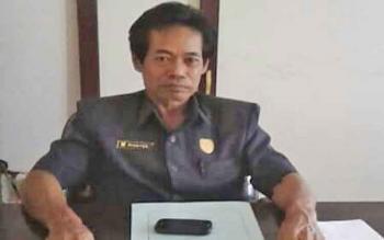 Anggota DPRD Kabupaten Gunung Mas Riantoe.