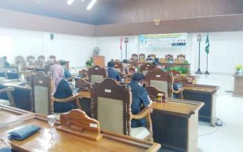 Rapat Paripurna DPRD Kabupaten Pulang Pisau.