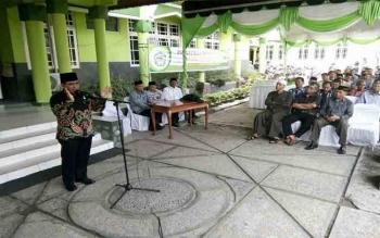 Rektor IAIN Palangka Raya, Ibnu Elmi AS Pelu