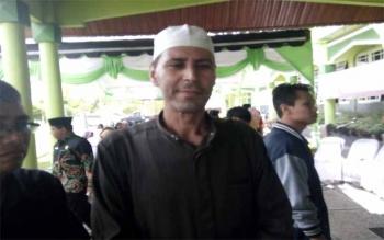Osama Abdul Mun\'im Sayet, dosen utusan Universitas Al Azhar Mesir