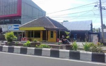 Tanah Jalan A Yani yang diklaim Setia Wijaya alias Yoyong dengan Fakhrudin.