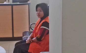 Sri Furwanti alias Epon terdakwa zenith