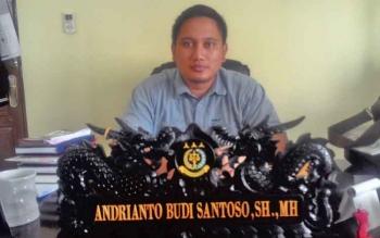 Kasi Pidana Khusus (Pidsus) Kejari Kapuas, Andrianto Budi Santoso