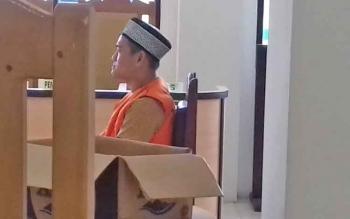 Bia Adiatma, honorer di Dinas Perhubungan Seruyan yang menjadi terdakwa kasus zenith.