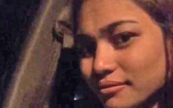 Foto di status jejaring sosial pribadi Nur Fitri, sebelum ditemukan tewas.
