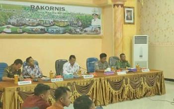 Kegiatan rapat koordinasi teknis kepala BP3K, mantri tani, penyuluh dan petugas teknis se-Kabupaten Seruyan, Kamis (2/11/2017).