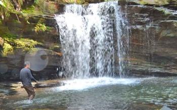 Air terjun Jantur Doyan di Km 1, Muara Teweh-Puruk Cahu merupakan salah satu objek wisata yang akan diberlakukan penarikan retribusi pada 2018.
