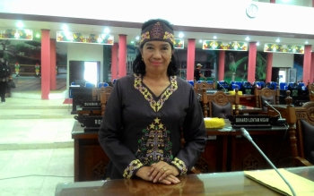 Ketua Tim Reses Dapil I DPRD Kota Palangka Raya, Anna Agustina Elsye.