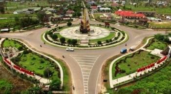 Bundaran Besar Kapuas yang merupakan Icon Kabupaten Kapuas