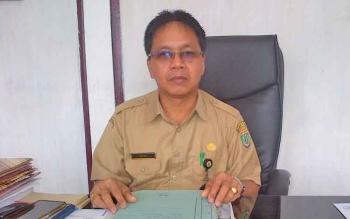 Kepala Dinas Perdagangan Koperasi dan Usaha Mikro Kecil dan Menengah Kabupaten Barito Selatan, Dekma.