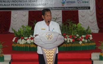Dinkes Sukamara saat menggelar kegiatan sosialiasi ODF di aula kantor bupati Sukamara.