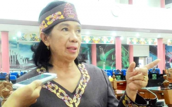 Ketua Bapemperda DPRD Kota Palangka Raya, Anna Agustina Elsye