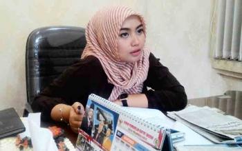 Wakil Ketua DPRD Kota Palangka Raya Ida Ayu Nia Anggraini.