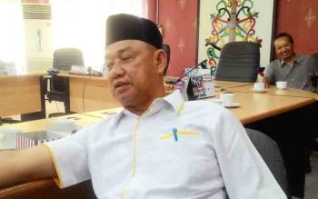 Ketua Komisi C DPRD Kota Palangka Raya Rusliansyah.