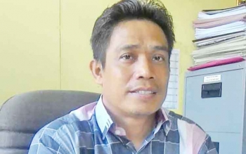 Ketua KPU Kabupaten Kapuas Bardiansyah SE