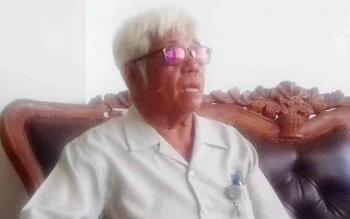 Ketua Perhimpunan LBH di Kalteng N Sudirman.