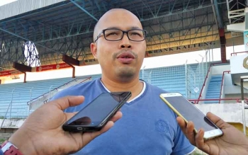 Manajer Kalteng Putra Tommy Irawan.