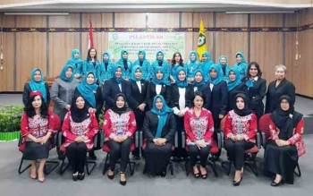 Pengurus KPP Kotim yang baru dilantik.