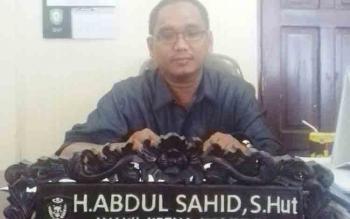 Wakil Ketua Komisi III DPRD Kotawaringin Timur, Abdul Sahid