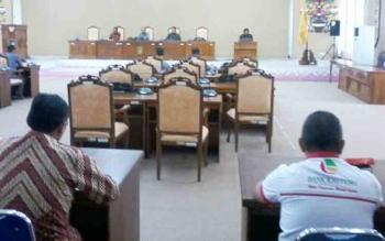 Ini 11 Anggota DPRD Katingan di Paripurna yang Akhirnya Dibatalkan