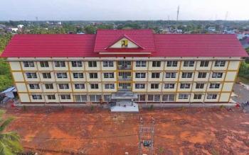 Pembangunan Rusun Kapuas Rampung
