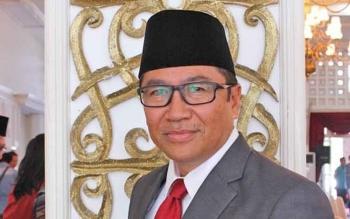 Kepala Dinas Pekerjaan Umum dan Penataan Ruang Provinsi Kalimantan Tengah Leonard Samuel Ampung.
