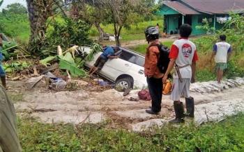 Salah satu kasus kecelakaan lalu lintas di Kotim.