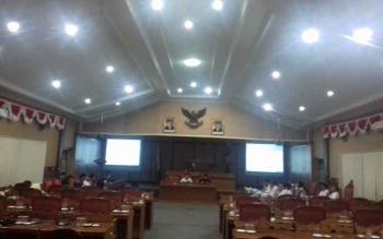 Rapat tim Banggar DPRD Kotim dengan TAPD.