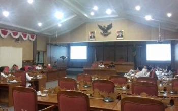 Rapat antara Banggar DPRD Kotim dan TAPD.