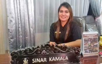 Anggota Komisi I DPRD Kotim, Sinar Kamala