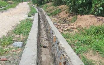Pembangunan di Desa Sulung, Kecamatan Arut Selatan,