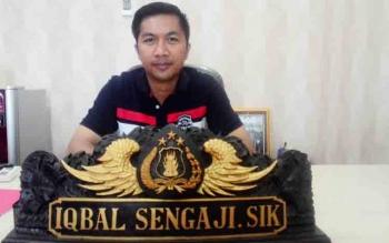 Kasat Reskrim Polres Kapuas Iqbal Sangaji