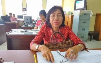Kabid Hortikultura Dinas TPHP Kalteng, Dewi Erawati.