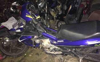Barbuk kendaraan yang terlibat kecelakaan di Jalan Ir H Juanda.