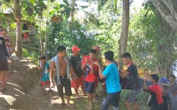 Ladimi, warga Desa Muara Untu, Kecamatan Murung, Kabupaten Murung Raya tewas tertimpa pohon.