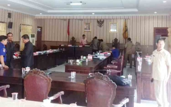 Komisi III DPRD Kotim, usai membahas RAPBD 2018 dengan mitra kerja mereka.
