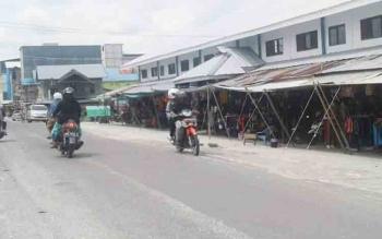 Pasar Inpres Sukamara.