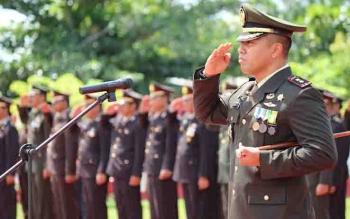Dandim 1015 Sampit, Letkol Inf I Gede Putra Yasa.