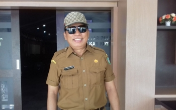 Kepala Dinas Kebudayaan dan Pariwisata Kotim Fajrurrahman.