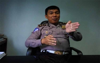 Kasubdit Penegakan Hukum Direktorat Lalu Lintas Polda Kalteng AKBP Titis Bangun