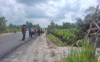 Sidang pemeriksaan setempat tanah Jalan Pelita Sampit.