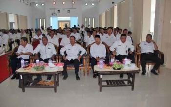 ASN di lingkungan Pemkab Sukamara saat mengikuti kegiatan.